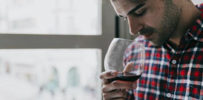 come si degusta un vino
