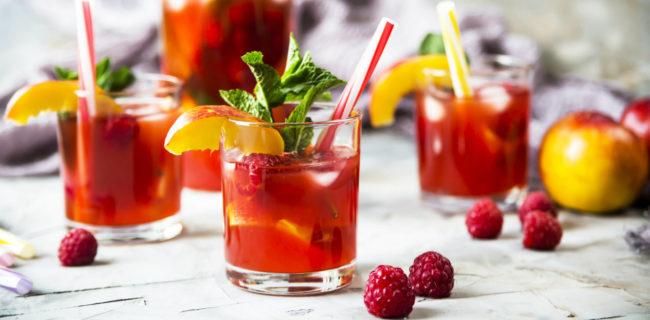 sparkling cocktail