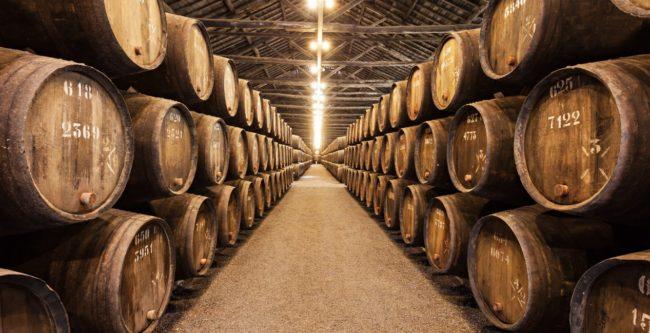 invecchiamento del vino