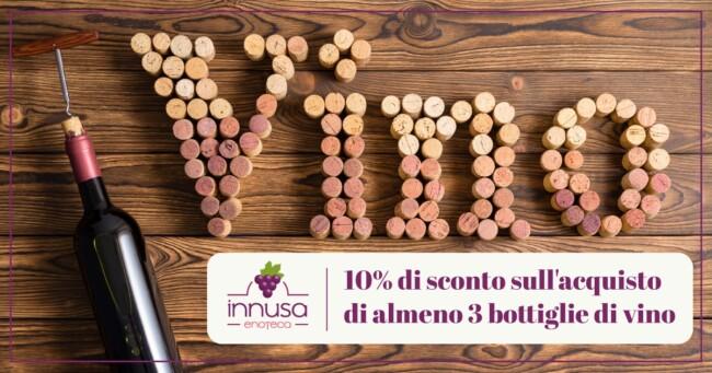 Vini in promozione - Enoteca Innusa Palermo