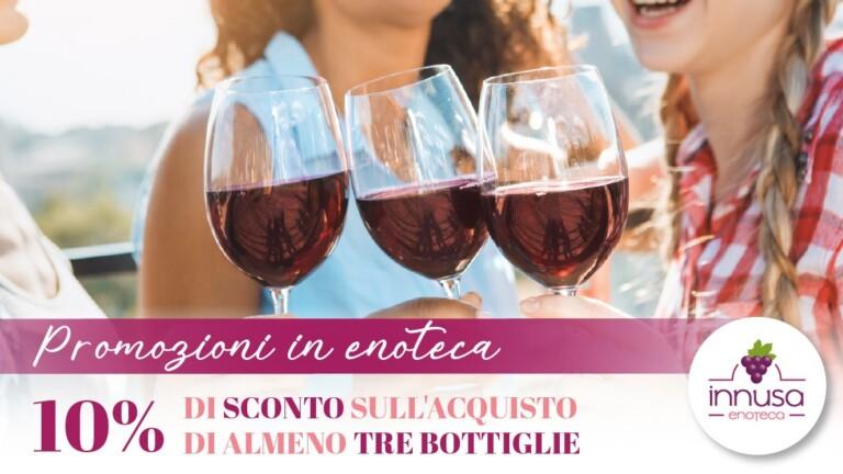 Promozioni vino in enoteca - Enoteca Innusa Palermo
