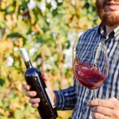 Corpo del vino Enoteca Innusa