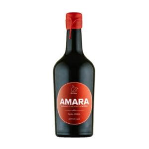 Amara Amaro di Arancia Rossa Rossa Enoteca Innusa