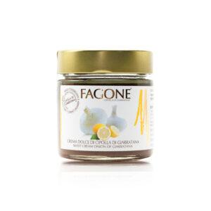 Crema dolce di cipolla di Giarratana Gold Line Fagone Enoteca Innusa