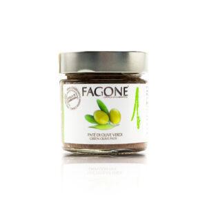 Paté di olive verdi Silver Line Fagone Enoteca Innusa