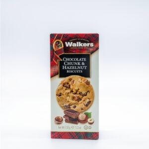 Walkers Biscuits Biscotti Scozzesi Cioccolato e Nocciole Enoteca Innusa
