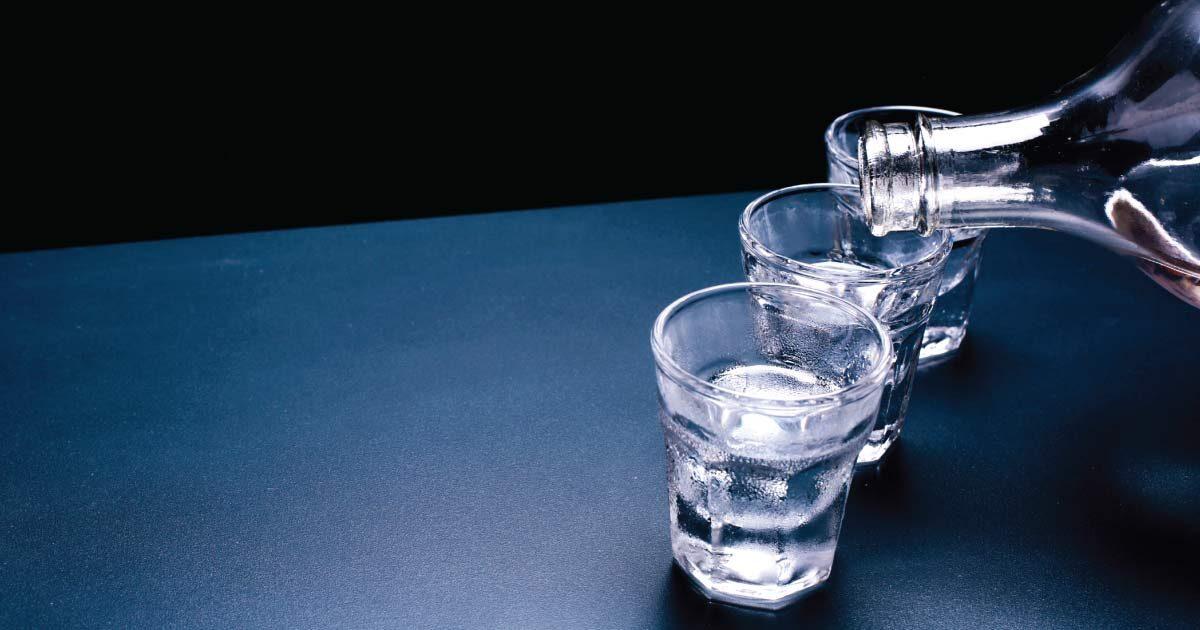 storia della vodka